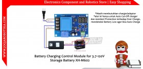 Battery Charging Control Module for 3.7-120V Storage Battery XH-M602