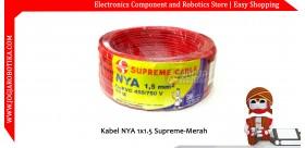 Kabel NYA 1x1.5 Supreme-Merah