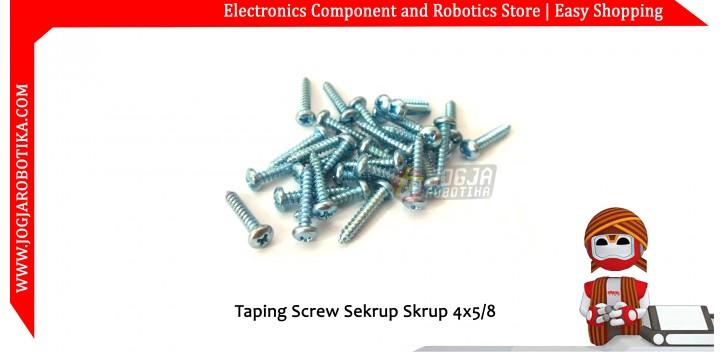 Taping Screw Sekrup Skrup 4x5/8