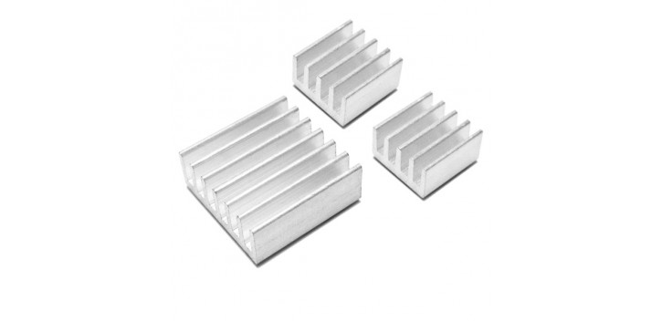 Aluminum Heatsink for Raspberry Pi B+/2