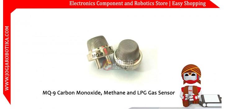 MQ-9 Carbon Monoxide, Methane and LPG Gas Sensor