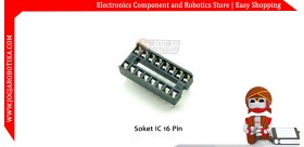 Soket IC 16 Pin