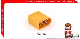 Male XT60 connectors 1pcs
