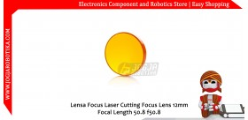 Lensa Focus Laser Cutting Focus Lens 12mm Focal Length 50.8 f50.8