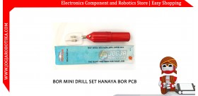 BOR MINI DRILL SET HANAYA BOR PCB