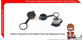 Aviation Plug 16mm GX16 Rubber Dust Cap Waterproof Cover