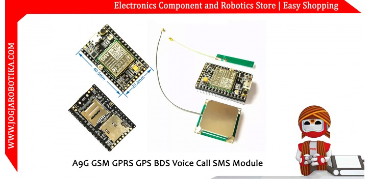 A9G GSM GPRS GPS BDS Voice Call SMS Module