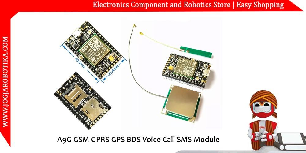 Jual A6 Mini Serial GPRS GSM Module
