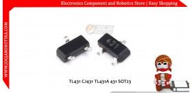 TL431 CJ431 TL431A 431 SOT23 Dioda Programmable Shunt Regulator