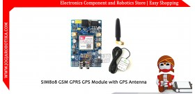 SIM808 GSM GPRS GPS Module with GPS Antenna