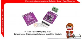 PT100 PT1000 MAX31865 RTD Temperature Thermocouple Sensor Amplifier Module