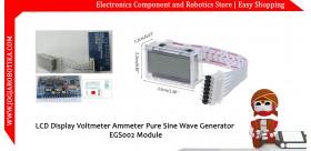 LCD Display Voltmeter Ammeter Pure Sine Wave Generator EGS002 Module