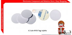 IC Coin RFID Tag 125kHz