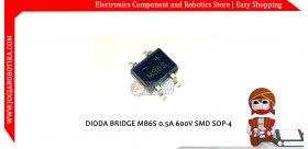 DIODA BRIDGE MB6S 0.5A 600V SMD SOP-4