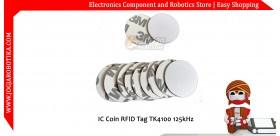 IC Coin RFID Tag TK4100 125kHz