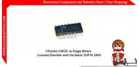 CD4060 CMOS 14-Stage Binary Counter/Devider and Oscilator SOP16 SMD