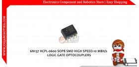 6N137 HCPL-0600 SOP8 SMD HIGH SPEED-10 MBit/s LOGIC GATE OPTOCOUPLERS