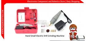 Hand Small Electric Drill Grinding Machine (Bor dan Gerinda Tangan)