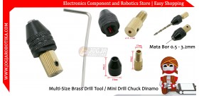 Multi-Size Brass Drill Tool / Mini Drill Chuck Dinamo