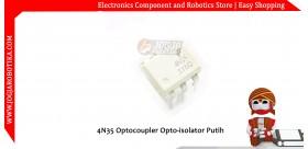 4N35 Optocoupler Opto-isolator Putih