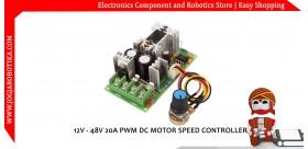 12V - 48V 20A PWM DC MOTOR SPEED CONTROLLER