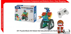 DIY Puzzle Block Kit Robot Kid Educational 2in1 R726