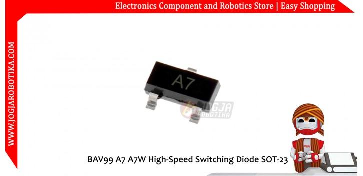 BAV99 A7 A7W High-Speed Switching Diode SOT-23