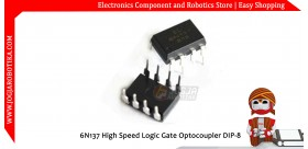 6N137 High Speed Logic Gate Optocoupler DIP-8