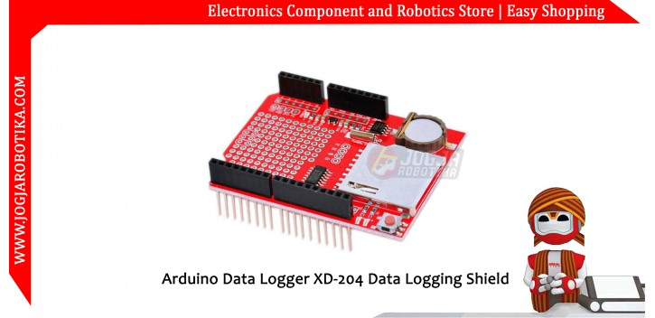 Arduino Data Logger XD-204 Data Logging Shield