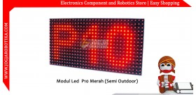 Led Matrik P10 Merah (Semi Outdoor)