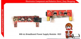 MB-102 Breadboard Power Supply Module - Red