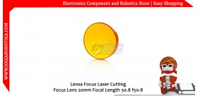 Lensa Focus Laser Cutting Focus Lens 20mm Focal Length 50.8 f50.8