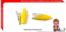 Jepit Buaya Kuning (5cm)
