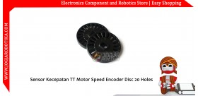 Sensor Kecepatan TT Motor Speed Encoder Disc 20 Holes