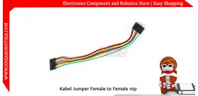 Kabel Jumper Female to Female 10p 20cm