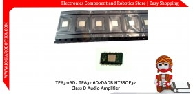 TPA3116D2 TPA3116D2DADR HTSSOP32 Class D Audio Amplifier 50W