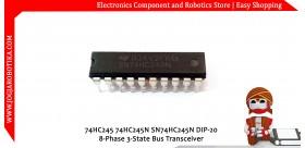 74HC245 74HC245N SN74HC245N DIP-20 8-Phase 3-State Bus Transceiver