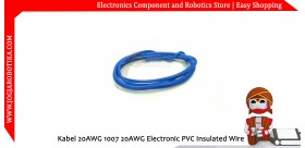 Kabel 20AWG 1007 20AWG Electronic PVC Insulated Wire - Biru