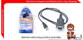 BAFO-810 USB to RS232 (USB to Serial DB9)