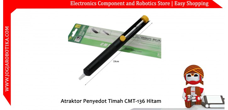 Atraktor Penyedot Timah CMT-136 Hitam
