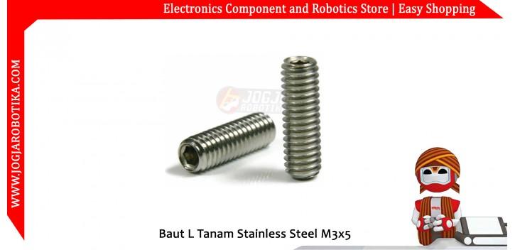 Baut L Tanam Stainless Steel M3x5