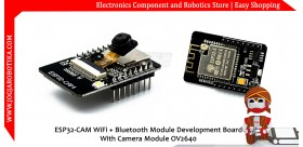ESP32-CAM WiFi + Bluetooth Module Development Board With Camera Module OV2640