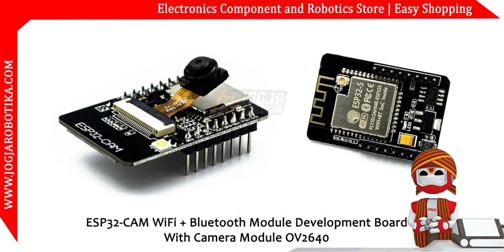 jual ESP32-CAM WiFi + Bluetooth Module Development Board