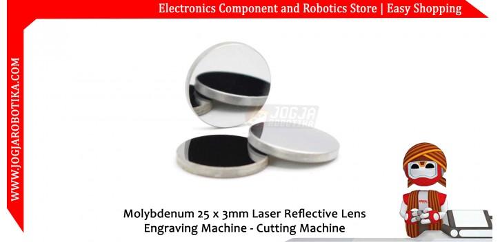 Molybdenum 25 x 3mm Laser Reflective Lens Engraving Machine - Cutting Machine