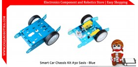 Smart Car Chassis Kit A30 Sasis - Biru