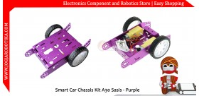 Smart Car Chassis Kit A30 Sasis - Ungu