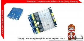 TDA7492 Stereo High Amplifier Board 2x50W Class D