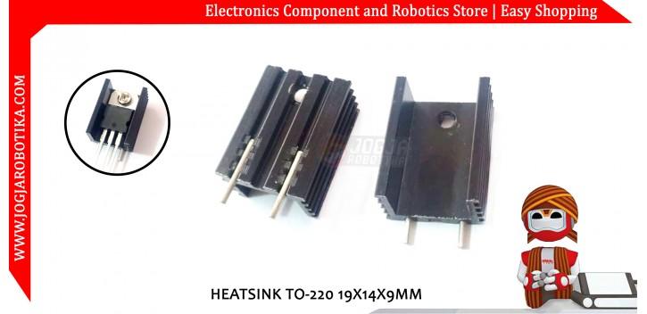 HEATSINK TO-220 19X14X9MM