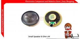 Small Speaker 8 Ohm 2W