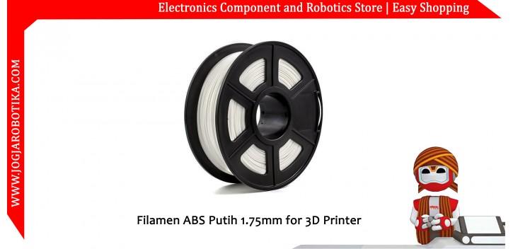Filamen ABS Putih 1.75mm for 3D Printer